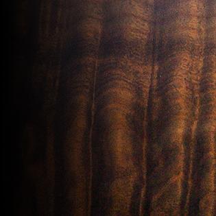 Antique Black Horizon - TEW Quilted Maple