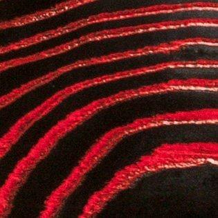 Monolith Black Pored Red