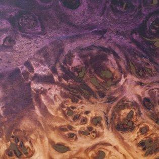 Natural Fade Violet Burst Out (Eye Poplar)