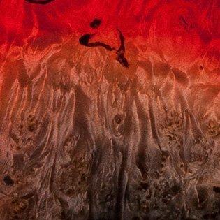 Red Supernova (Burl Maple)